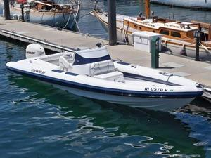 Used Airship 288 Rigid Sports Inflatable Boat For Sale