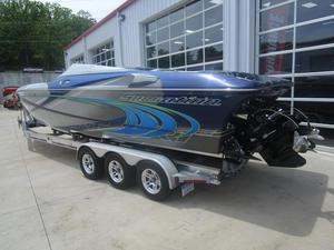 Used Sunsation Powerboats 32 XRT High Performance Boat For Sale