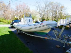 Used Ab Inflatables 19vst Rigid Sports Inflatable Boat For Sale