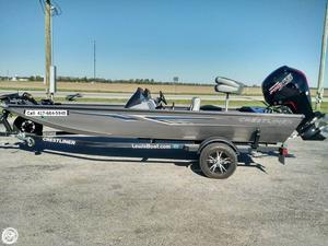 Used Crestliner VT 18 Pro Aluminum Fishing Boat For Sale