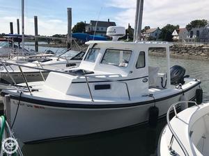 Used Eastern Sisu 22 Downeast Fishing Boat For Sale