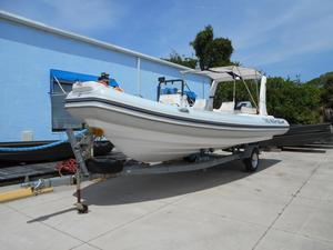 Used Lianya Rib 700 Rigid Sports Inflatable Boat For Sale