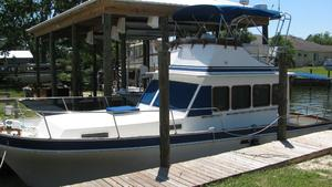 Used Californian 34 Trawler Cruiser Boat For Sale
