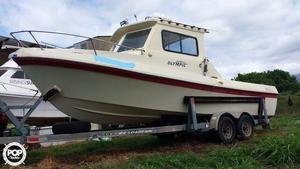 Used Olympic Fisherman Walkaround Fishing Boat For Sale