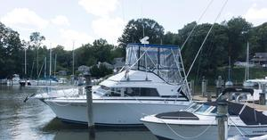 Used Bertram 33 Sport Fisherman Sports Fishing Boat For Sale