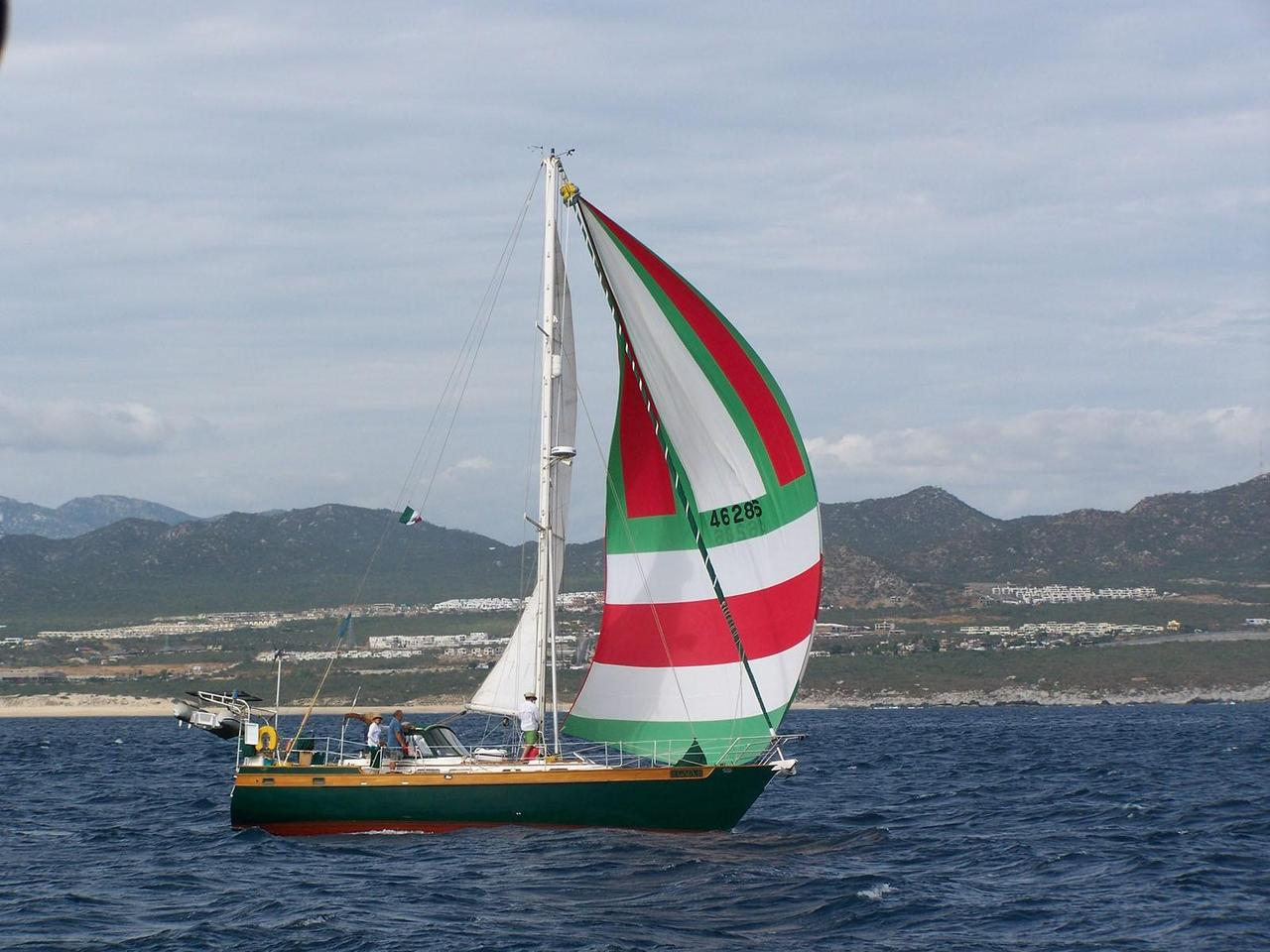 1987 Used Liberty 458 Cruiser Sailboat For Sale - $150,000