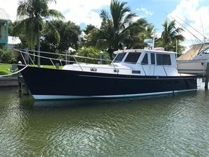 Used Legacy Yachts 40 Express All Glass NO Canvas Express Cruiser Boat For Sale