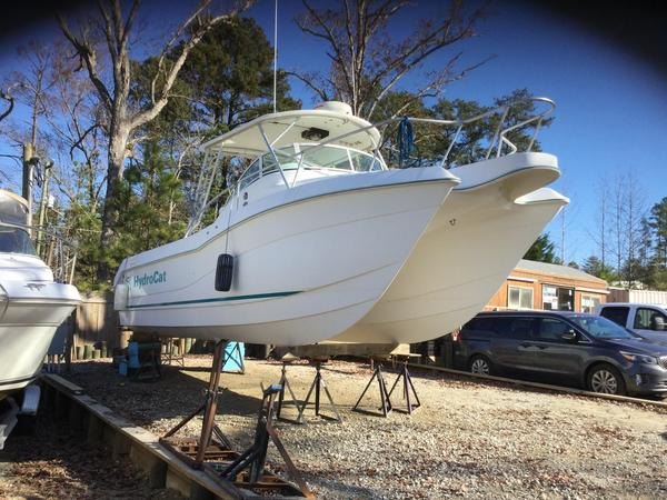 Used Hydrocat 300X Power Catamaran Boat For Sale