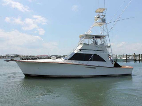 1985 used ocean yachts super sport sports fishing boat for for Sport fishing boats for sale by owner