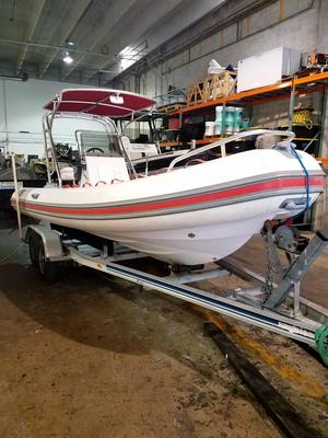 Used Sea Rib 18 Tender Boat For Sale