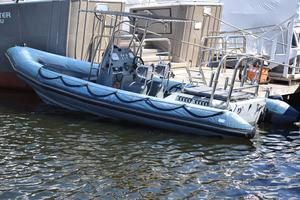 Used Ribcraft 6.8 Rigid Sports Inflatable Boat For Sale