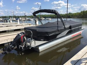 Used Manitou 27 Encore Pontoon Boat For Sale
