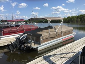 Used Manitou 25 Aurora LE RF VP - Bronze Pontoon Boat For Sale