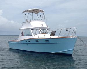 Used Brownell 33 Sport Fisherman Sports Fishing Boat For Sale
