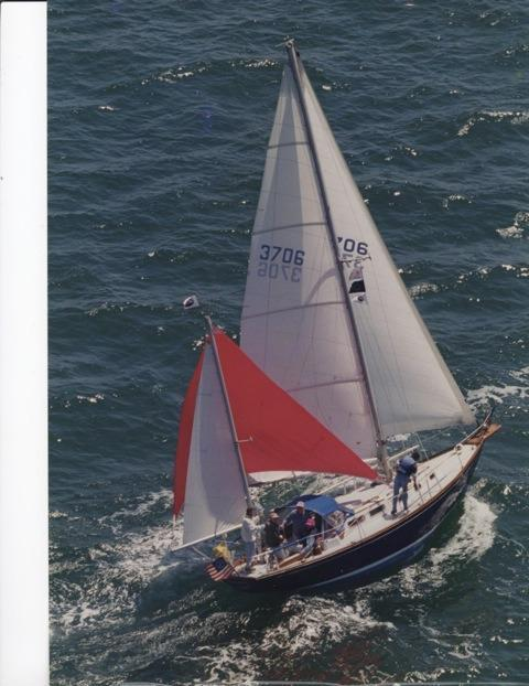 1969 Used Allied Seabreeze Yawl Sailboat For Sale - $29,900