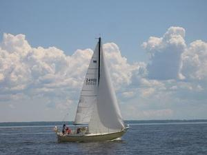 Used Mirage 26 Racer and Cruiser Sailboat For Sale