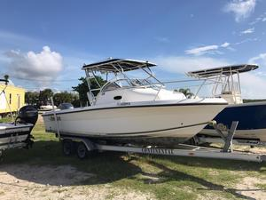 Used Angler 220 WA Center Console Fishing Boat For Sale