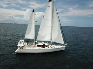Used Shannon 53 HPS 60 Motorsailor ICW Rig Motorsailer Sailboat For Sale