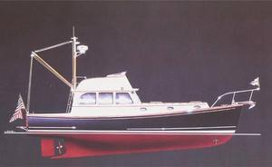 New John Williams Boat Company - Stanley 44 Downeast Fishing Boat For Sale