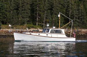 New John Williams Boat Co. Stanley 38 Downeast Fishing Boat For Sale