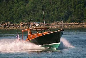 New John Williams Boat Company Stanley Downeast Fishing Boat For Sale