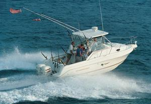 Used Aquasport 275 Explorer Saltwater Fishing Boat For Sale