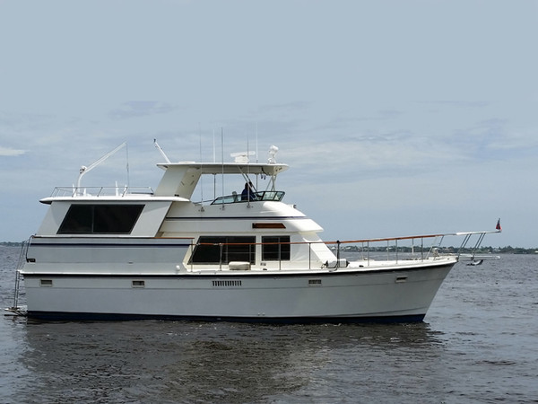 Used Atlantic Boat 47 Motoryacht Flybridge Boat For Sale