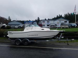 Used Seaswirl Striper 2100 Walk Around I/O Sports Fishing Boat For Sale