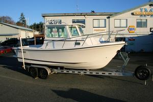 New Steiger Craft 21' Chesapeake Pilothouse Boat For Sale