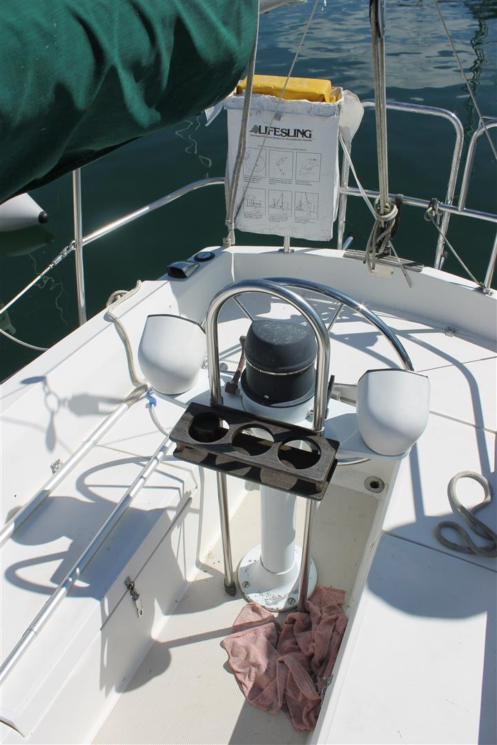 1986 Used Catalina 27 Cruiser Sailboat For Sale - $8,950