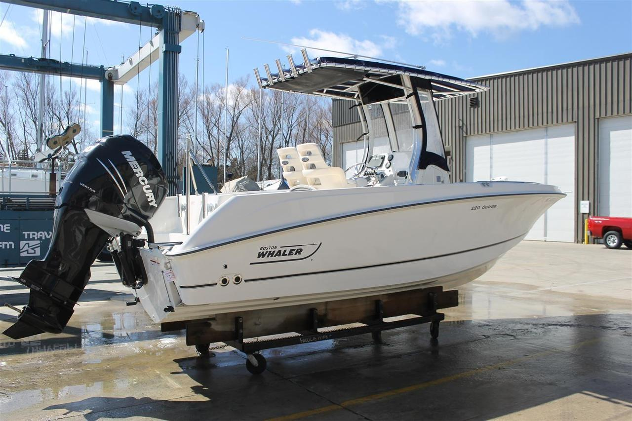 2014 Used Boston Whaler 220 Outrage Center Console Fishing Boat For Mercury Verado Dts Wiring Diagram 22 Sale