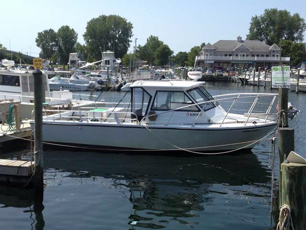 Used Island Hopper Open Sports Fishing Boat For Sale