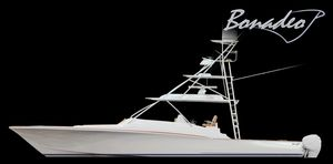 New Bonadeo Custom Carolina Walkaround 45 Center Console Fishing Boat For Sale