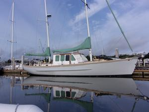 Used Herreshoff Covey Island Motorsailer Sailboat For Sale