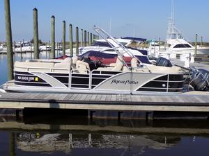 Used Aqua Patio 220 SL Pontoon Boat For Sale