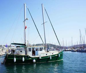 Used Diesel Duck 50' Trawler Boat For Sale