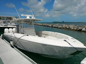 Used Midnight Express 37 Quads Center Console Fishing Boat For Sale