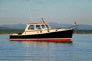 Used Jarvis Newman 32 Downeast Fishing Boat For Sale