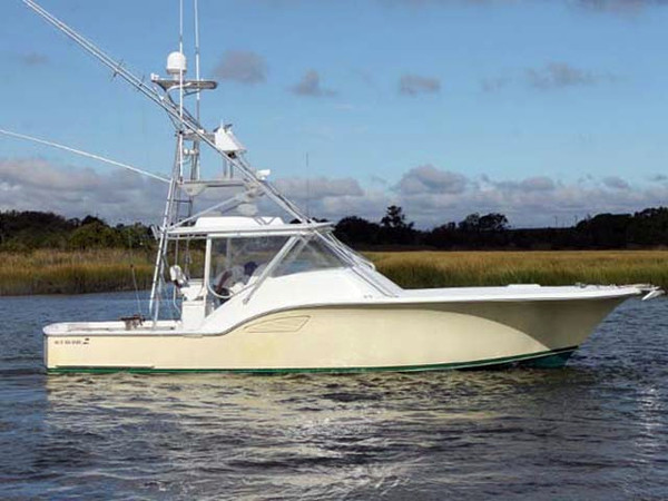 Used Custom Carolina Express Sports Fishing Boat For Sale