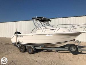 Used Sea Fox 230 WA Walkaround Fishing Boat For Sale
