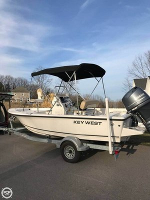 Used Key West 176 Bay Reef Center Console Fishing Boat For Sale