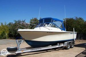 Used Skipjack Open Cruiser 24' Walkaround Fishing Boat For Sale