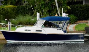 Used Legacy Yachts 28 Downeast Fishing Boat For Sale