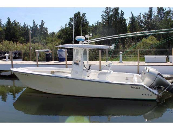 Used Seacraft Center Console Fishing Boat For Sale