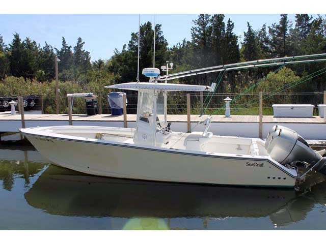 2005 used seacraft sports fishing boat for sale 49 900 for Fishing boats for sale nj