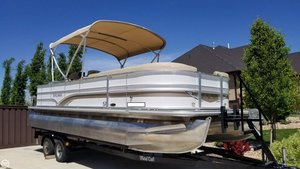 Used Sylvan Mirage 8522 Party Fish LE-R Pontoon Boat For Sale