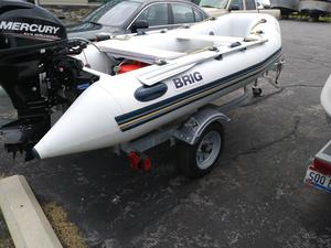 Used Brig Inflatables Falcon 330 Commercial Boat For Sale