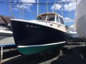 Used Atlas Boat Works 25 Acadia Downeast Fishing Boat For Sale