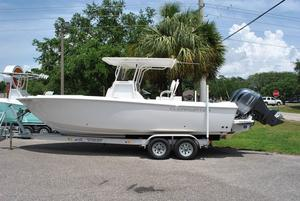 Used Clearwater 2508 Saltwater Fishing Boat For Sale