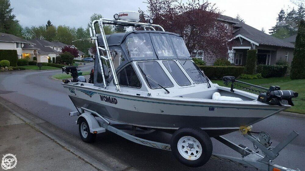 Used Fishing Boats For Sale >> 2003 Used Fish Rite 18 Performer Aluminum Fishing Boat For Sale